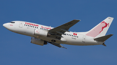 TS-IOQ - Boeing 737-6H3 - Tunisair