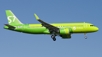 F-WWTX - Airbus A320-271N - S7 Airlines