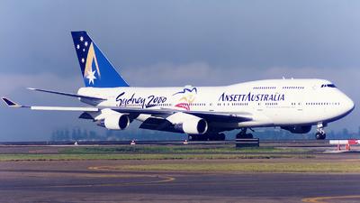 VH-ANA - Boeing 747-412 - Ansett Australia