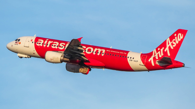 A picture of 9MAQP - Airbus A320216 - AirAsia - © Fo.Prottay