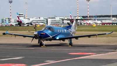 A picture of DFLAT - Pilatus PC12/47E - [1487] - © Chris de Breun