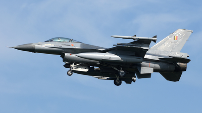 FA-128 - General Dynamics F-16AM Fighting Falcon - Belgium - Air Force