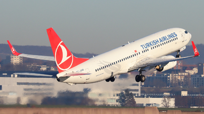 A picture of TCJHM - Boeing 7378F2 - Turkish Airlines - © Justin Stöckel