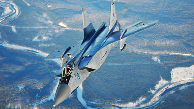 RF-95455 - Mikoyan-Gurevich MiG-31 Foxhound - Russia - Air Force