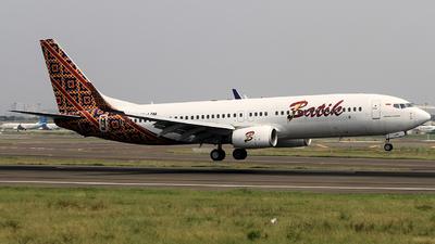 PK-LDM - Boeing 737-8GP - Batik Air