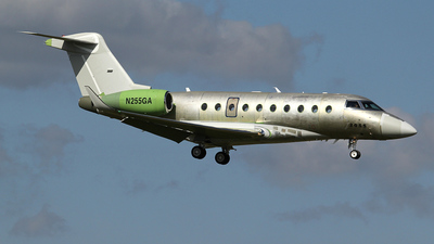 A picture of N255GA - Gulfstream G550 - [5555] - © Ian Howat