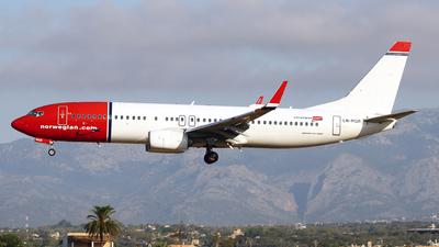 A picture of LNNGR - Boeing 7378JP - [41121] - © Javier Rodriguez - Amics de Son Sant Joan