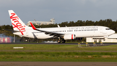 A picture of VHVUG - Boeing 7378FE - Virgin Australia - © Brandon Giacomin