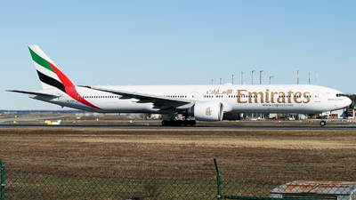 A picture of A6EBU - Boeing 77731H(ER) - Emirates - © Stefan Bayer
