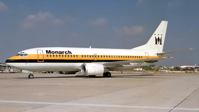 G-MONF - Boeing 737-3Y0 - Monarch Airlines