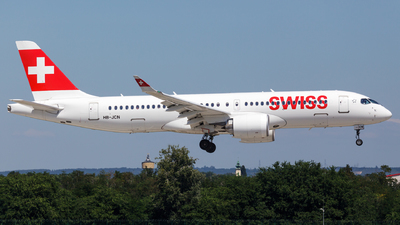 A picture of HBJCN - Airbus A220300 - Swiss - © SlowhanD