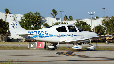 N678DG - Cirrus SR20-G2 - Private