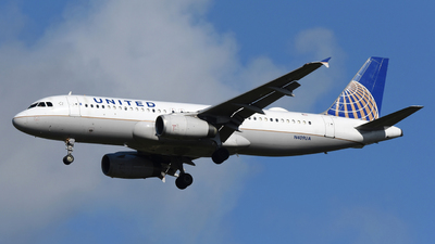 A picture of N409UA - Airbus A320232 - United Airlines - © DJ Reed - OPShots Photo Team