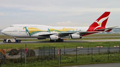 VH-OJO - Boeing 747-438 - Qantas