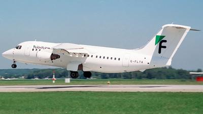 G-FLTA - British Aerospace BAe 146-200 - Flightline