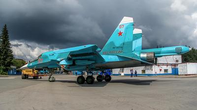 RF-81713 - Sukhoi Su-34 Fullback - Russia - Air Force