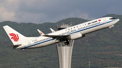 B-1762 - Boeing 737-89L - Air China