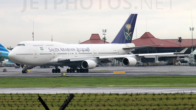 TF-AAF - Boeing 747-446 - Saudi Arabian Airlines (Air Atlanta Icelandic)