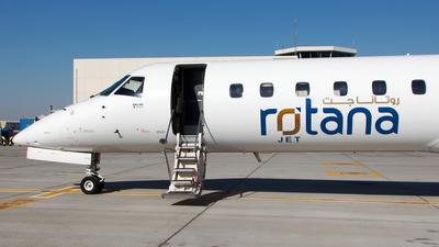 A picture of A6RRB - Embraer ERJ145MP - Rotana Jet - © Sebastian Sowa