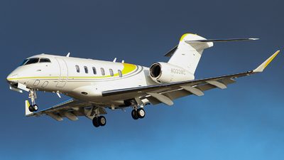 N333WC - Bombardier BD-100-1A10 Challenger 350 - Private