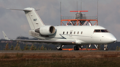 A picture of N87 - Bombardier CL601 Challenger -  - © Andrew Matthews