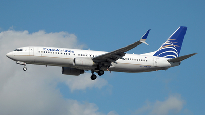 HP-1538CMP - Boeing 737-8V3 - Copa Airlines