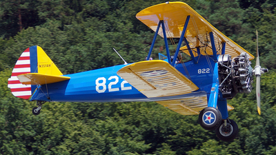 N351AH - Boeing A75N1 Stearman - Private