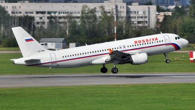 VQ-BBM - Airbus A320-214 - Rossiya Airlines