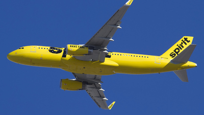 N650NK - Airbus A320-232 - Spirit Airlines