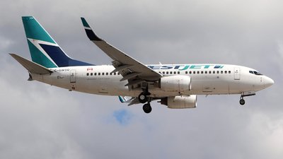 A picture of CGWSQ - Boeing 7377CT - WestJet - © Guy Langlois