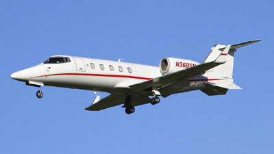N360SN - Bombardier Learjet 60 - Private