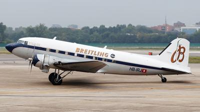 HB-IRJ - Douglas DC-3A - Breitling