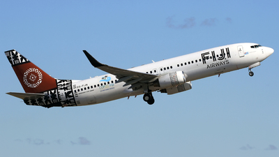 DQ-FJN - Boeing 737-808 - Fiji Airways