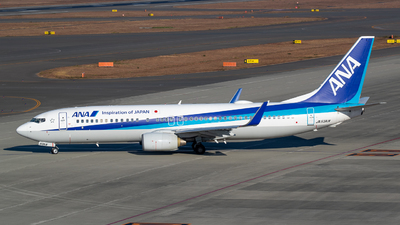 A picture of JA53AN - Boeing 737881 - All Nippon Airways - © Joe Masui