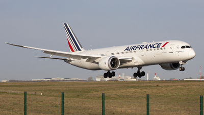 F-HRBJ - Boeing 787-9 Dreamliner - Air France