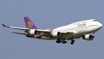 HS-TGO - Boeing 747-4D7 - Thai Airways International