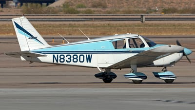A picture of N8380W - Piper PA28180 - [282582] - © TSTP350