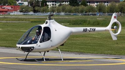 HB-ZYH - Guimbal Cabri G2 - Groupe Helicoptere Sion