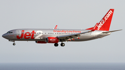 A picture of GJZHR - Boeing 7378MG - Jet2 - © Alfonso Solis