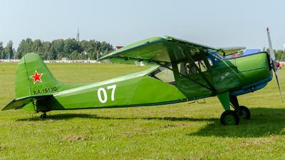 RA-1513G - Yakovlev Yak-12M - Private