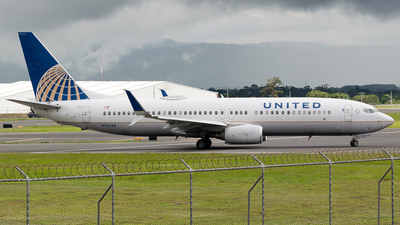 A picture of N76528 - Boeing 737824 - United Airlines - © RAFAEL FERNANDEZ ABARCA