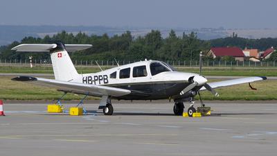 HB-PPB - Piper PA-28RT-201T Turbo Arrow IV - Flugschule Basel