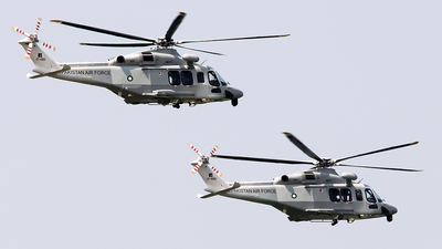 17-002 - Agusta-Westland AW-139 - Pakistan - Air Force