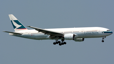 B-HNL - Boeing 777-267 - Cathay Pacific Airways