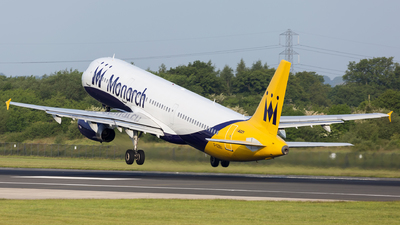 G-OZBU - Airbus A321-231 - Monarch Airlines
