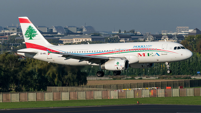OD-MRL - Airbus A320-232 - Middle East Airlines (MEA)