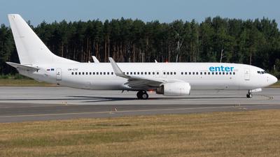 OM-GTF - Boeing 737-86J - Enter Air (Go2Sky)