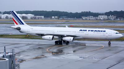 F-GLZS - Airbus A340-313X - Air France
