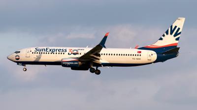 A picture of TCSOC - Boeing 7378HC - SunExpress - © Sebastian Thiel