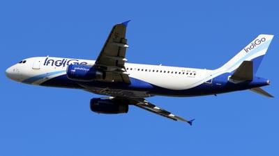 VT-IFF - Airbus A320-232 - IndiGo Airlines